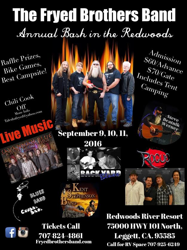 The Fryed Brothers Band 2016 Annual Bash
